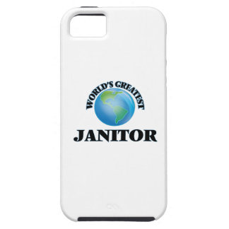 World's Greatest Janitor iPhone 5 Covers