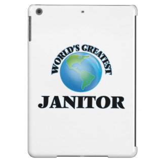 World's Greatest Janitor iPad Air Cover