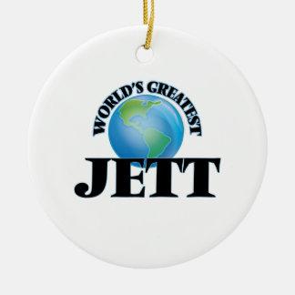 World's Greatest Jett Christmas Ornaments