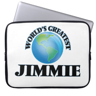World's Greatest Jimmie Laptop Computer Sleeves
