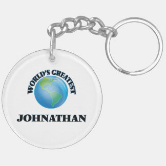 World's Greatest Johnathan Keychains