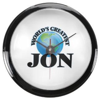 World's Greatest Jon Aqua Clocks
