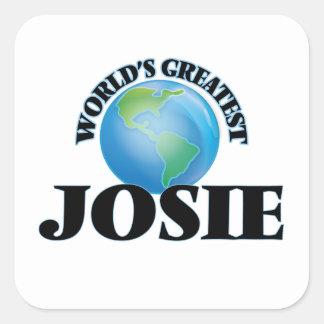 World's Greatest Josie Square Sticker