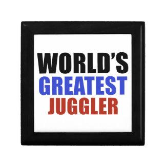 World's greatest JUGGLER Trinket Box