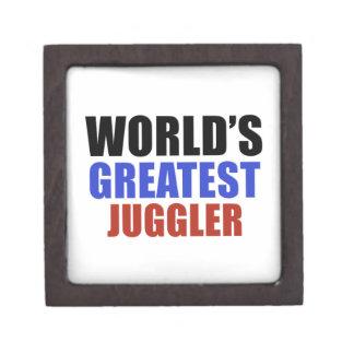 World's greatest JUGGLER Premium Keepsake Boxes