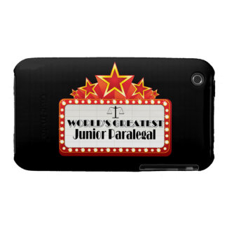 World's Greatest Junior Paralegal iPhone 3 Covers