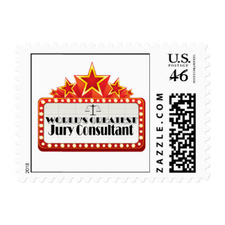 World's Greatest Jury Consultant Postage Stamps