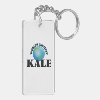 World's Greatest Kale Keychain