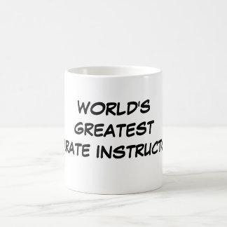 """World's Greatest Karate Instructor""  Mug"