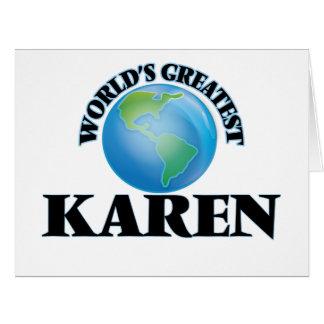 World's Greatest Karen Cards