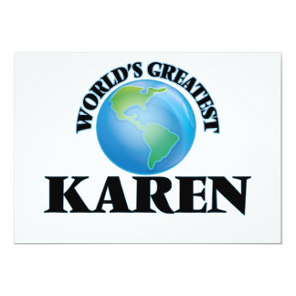 World's Greatest Karen Announcement