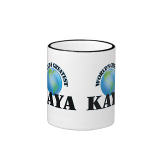 World's Greatest Kaya Ringer Coffee Mug