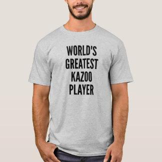 Worlds Greatest Kazoo Player T-Shirt