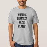 Worlds Greatest Kazoo Player Tee Shirt