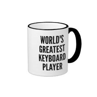Worlds Greatest Keyboard Player Ringer Mug