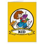 WORLDS GREATEST KID CARTOON CARDS