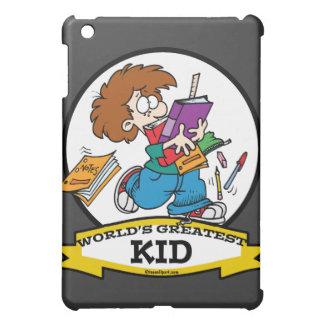 WORLDS GREATEST KID CARTOON iPad MINI COVER