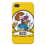 WORLDS GREATEST KID CARTOON iPhone 4/4S COVER