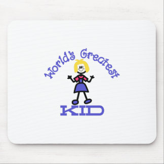 Worlds Greatest Kid Mouse Pad