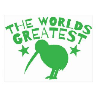 World's GREATEST KIWI (New Zealand funny) Postcard