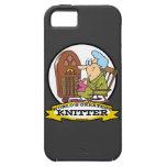 WORLDS GREATEST KNITTER CARTOON iPhone 5 CASES