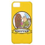 WORLDS GREATEST KNITTER CARTOON iPhone 5C CASE