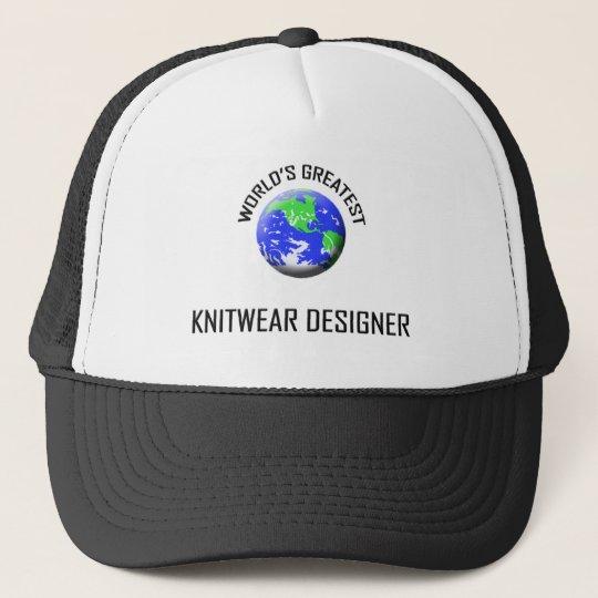 World's Greatest Knitwear Designer Trucker Hat