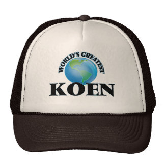 World's Greatest Koen Trucker Hat