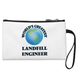 World's Greatest Landfill Engineer Wristlet Clutches