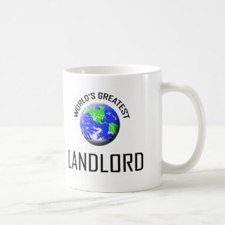 World's Greatest Landlord Classic White Coffee Mug