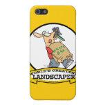 WORLDS GREATEST LANDSCAPER MEN CARTOON CASES FOR iPhone 5