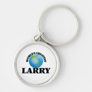 World's Greatest Larry Keychain