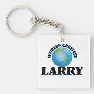World's Greatest Larry Acrylic Keychains
