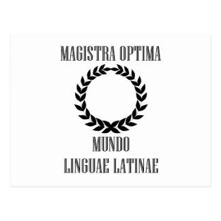 World's Greatest Latin Teacher (Female) Postcard