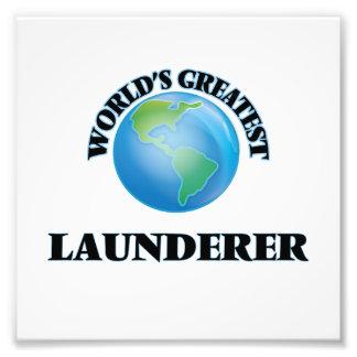 World's Greatest Launderer Photo Print