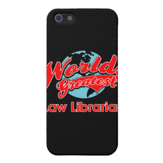 World's Greatest Law Librarian Case For iPhone SE/5/5s