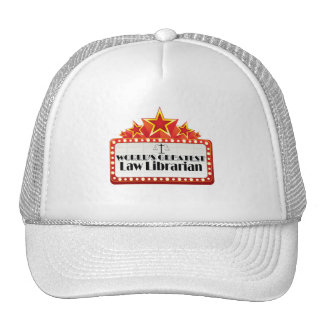 World's Greatest Law Librarian Hat