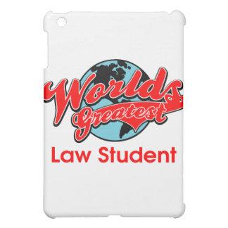 World's Greatest Law Student iPad Mini Cases