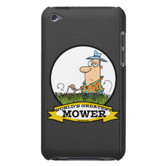 WORLDS GREATEST LAWN MOWER MEN CARTOON iPod TOUCH CASES