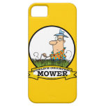 WORLDS GREATEST LAWN MOWER MEN CARTOON iPhone 5 COVERS