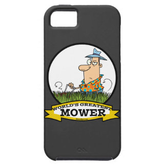 WORLDS GREATEST LAWN MOWER MEN CARTOON iPhone SE/5/5s CASE