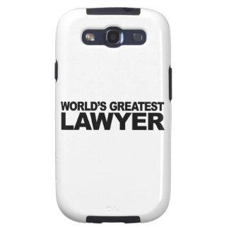 World's Greatest Lawyer Samsung Galaxy SIII Cases