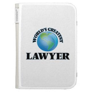 World's Greatest Lawyer Kindle Keyboard Case