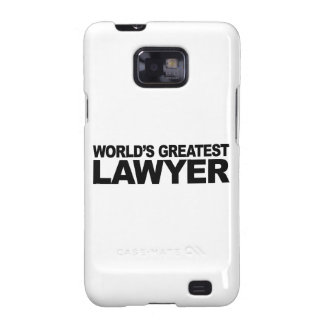 World's Greatest Lawyer Samsung Galaxy S2 Case