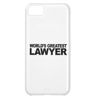 World's Greatest Lawyer iPhone 5C Cases