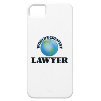 World's Greatest Lawyer iPhone 5 Case