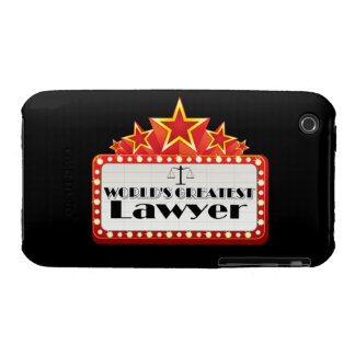 World's Greatest Lawyer Case-Mate iPhone 3 Case