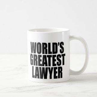 World's Greatest Lawyer Classic White Coffee Mug