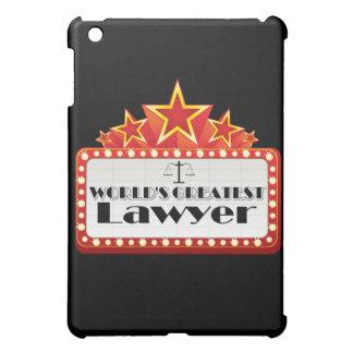 World's Greatest Lawyer iPad Mini Covers