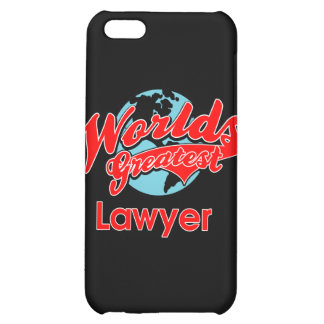 World's Greatest Lawyer iPhone 5C Cover